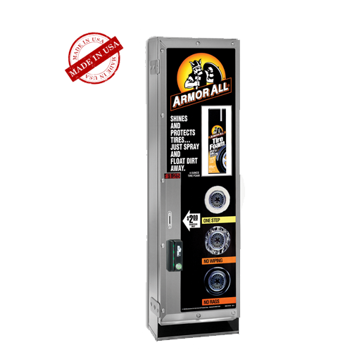 Laurel Metal Model 2599 Tire Foam Can Electronic Vending Machine